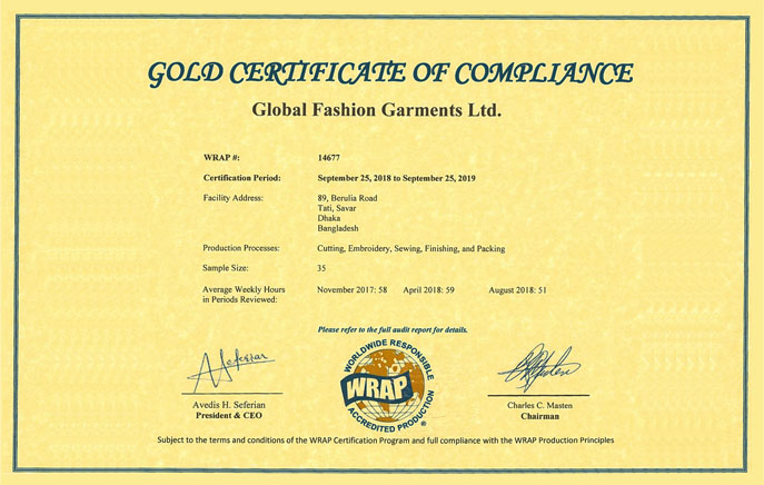 azim garments ltd global fashion garments ltd